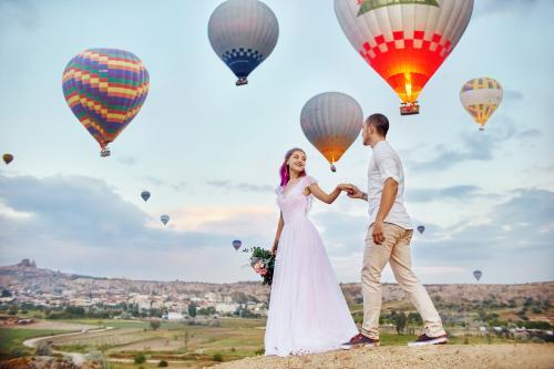 bajkowa sesja ślubna